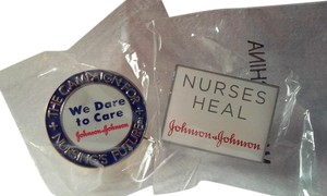 Other NURSE/Nursing LAPEL TAC PINS Lot Of (2)