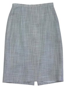 Louis Feraud Light Blue Pencil Skirt