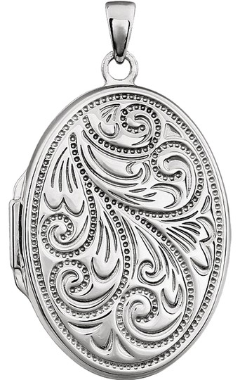 Other Luxury Designer Sterling Silver Oval Fashion Locket by BrianGdesigns