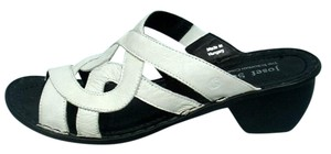 Josef Seibel Catalonia White Sandals