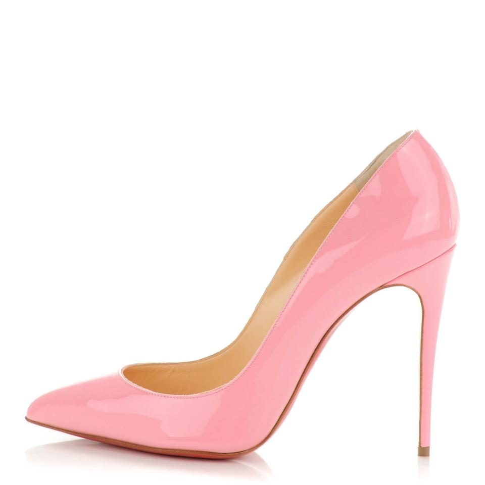 d5e48eb9776 Christian Louboutin Patent Pigalle Follies Follies Pointed Toe Pink Pumps  Image 0 ...