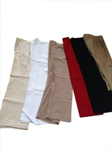a mix of many designers Relaxed Pants white/cream/tan/black/red