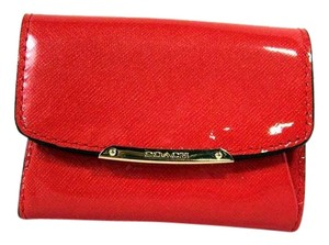 Coach Coin Purse Wallet Wristlet in Red