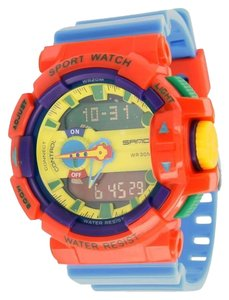 Other Shock Resistant Sports Watch Kids Editions Multi Color Funky Look Digital Analog