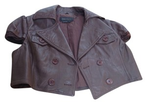 Plein Sud taupe / leather Jacket