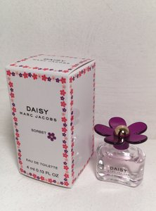Marc Jacobs NEW Daisy Sorbet Eau De Toilette Mini Fragrance, 4 ml 0.13 Fl. oz.