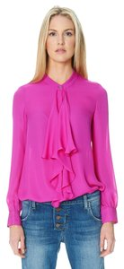 Jay Godfrey Pink Top Fuschia
