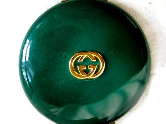 Gucci Gucci Authentic 1940's Vintage Emerald Green Enamel Compact