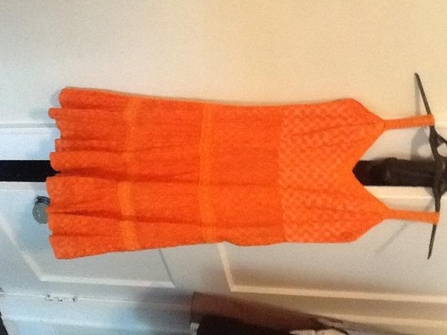 Preload https://item5.tradesy.com/images/milly-orange-short-casual-dress-size-4-s-173254-0-0.jpg?width=400&height=650