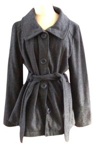 dELiA's Wool Belted Juniors Pea Coat