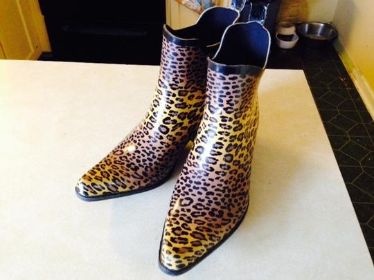 Corkys Rubber Gold, Brown and Black Boots