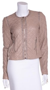 Rebecca Taylor Tan Leather Jacket