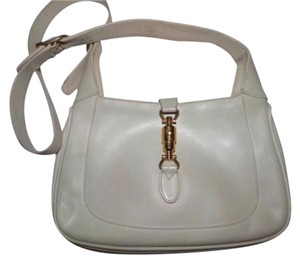 92f59828bf5 Gucci Jackie O Gold Hardware All Extender Strap Piston Closure Hobo Bag