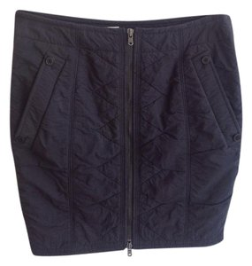 Donna Karan Mini Skirt Navy Blue