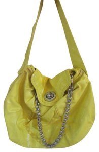 Marc Jacobs Buckles Patent Leather Hobo Bag