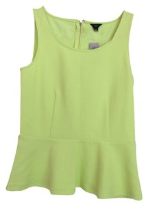 Ann Taylor Top Lime Green