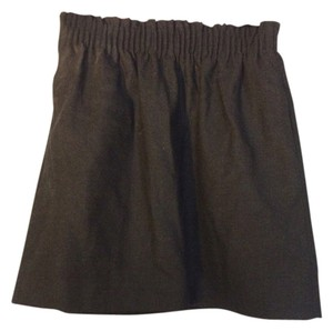 J.Crew Preppy Mini Skirt Charcoal