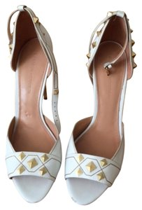 Sigerson Morrison White with golden studs Formal
