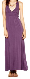 Dark Mauve Maxi Dress by Avaleigh Floral Maxi Purple