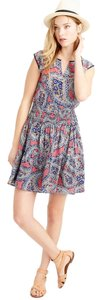 J.Crew short dress paisley on Tradesy