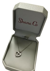 Shane and Company Half Carat Diamond Heart Pendant