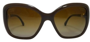 Chanel Chanel Brown Square Pearl Collection Polarized Sun. 5303H c.1416/S9