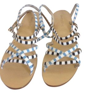 See by Chloé Blue/White Sandals