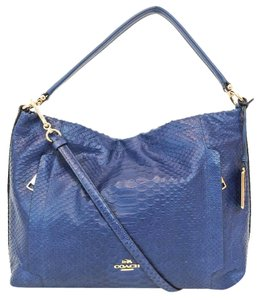 Coach Scout Python Leather 35326 Cross Body Bag