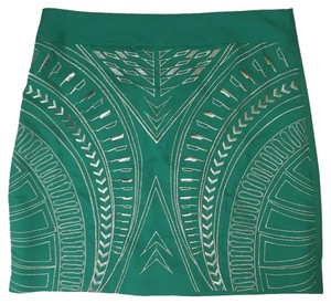 Jealous Tomato Mini Skirt Green