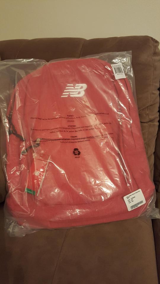 7a4e633e82d4 New Balance       Classic Red Polyester Backpack - Tradesy