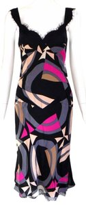 Diane von Furstenberg Silk Sleeveless Wiggle Dress