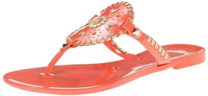 Jack Rogers Georgica Jelly Pink Sandals