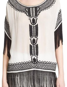 Alice + Olivia Top white/black