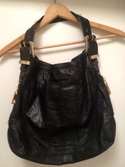 Steven by Steve Madden Leather Tote in Black