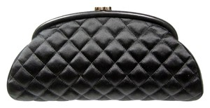 Chanel Timeless Black Clutch