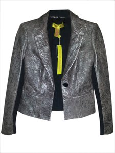 Catherine Malandrino Leather Sexy Trendy Going Out Leather Jacket