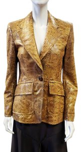 Escada New 2008 Collection Brown Blazer