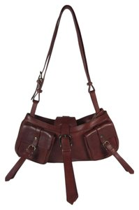 Burberry Brown Leather Prorsum Shoulder Bag
