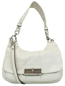 Coach Kristin Hippie Leather Convertible Cross Body Bag