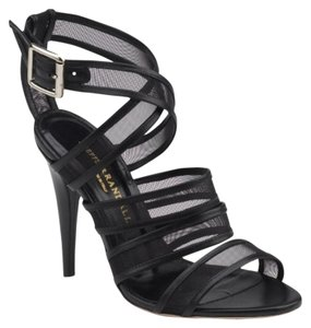 Loeffler Randall Strappy Pump Mesh Night Out Black Sandals
