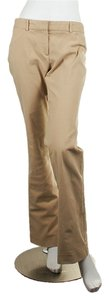 Theory Straight Pants Beige