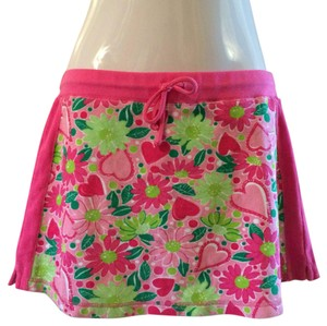 Lilly Pulitzer Mini Skirt Pink / Green