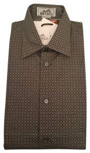 Herms Button Down Shirt