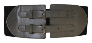 Rampage RAMPAGE Lady's stretch wide black/grey belt size M/L on sale sn