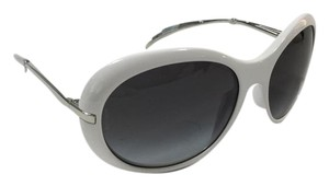 Chanel Chanel White/Silver Sunglasses