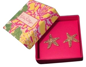 "Lilly Pulitzer Lilly Pulitzer Starfish ""Star Bright"" Earrings"