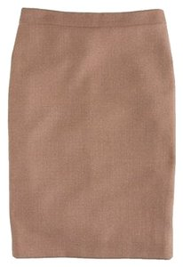 J.Crew Acorn Pencil Skirt Khaki