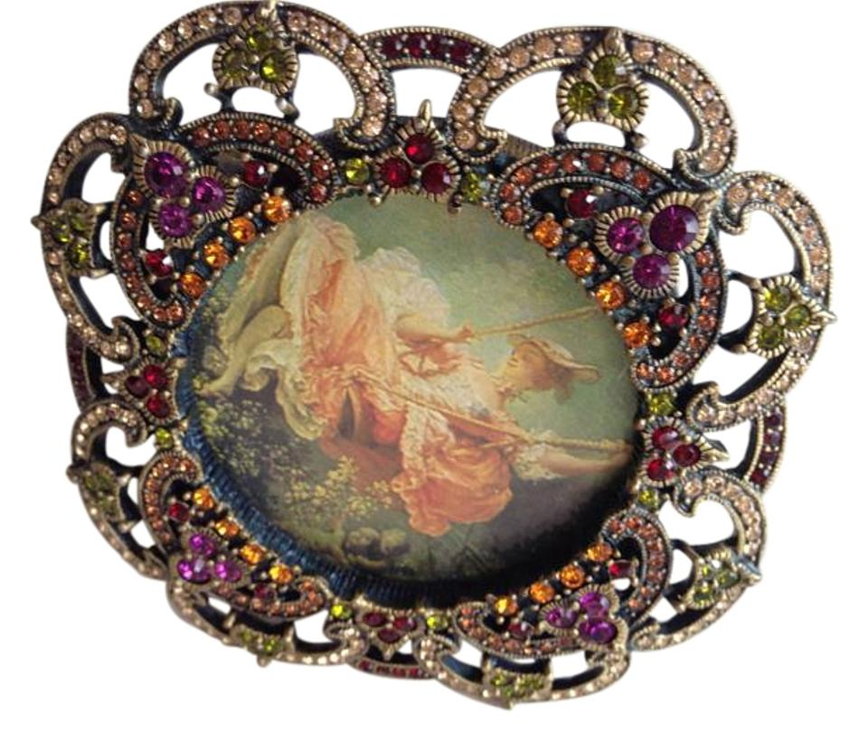 Jay Strongwater Multicolor Collectible Picture Crystal Frame - Tradesy