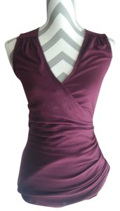 Banana Republic Colored Sleeveless Top Plum