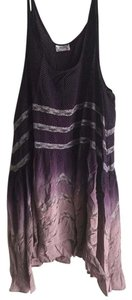 Free People short dress Lavender/Plum Ombre on Tradesy